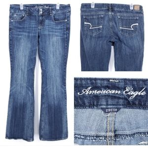 AMERICAN EAGLE Artist Jeans Boot Cut LONG Stretch